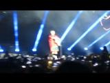 May 3: Justin performing 'Cold Water' in Tel Aviv, Israel.