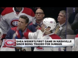 NHL Morning Catch Up: Weber dominant in Nashville return | January 4, 2017