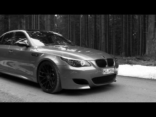 BMW M5 E60 EISENMANN RACE - PURE SOUND AND LOUD DOWNSHIFTS