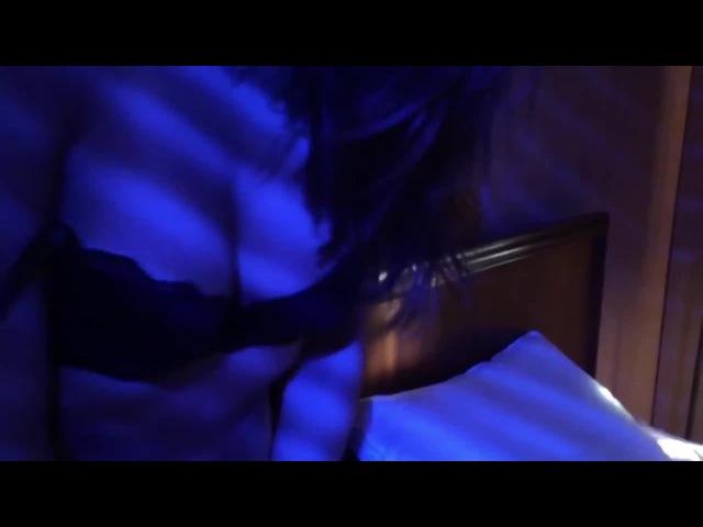 Girl in blue light 2