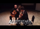 Montenegrin Guitar Duo plays Bach BWV810 - Passepied 2, Gigue