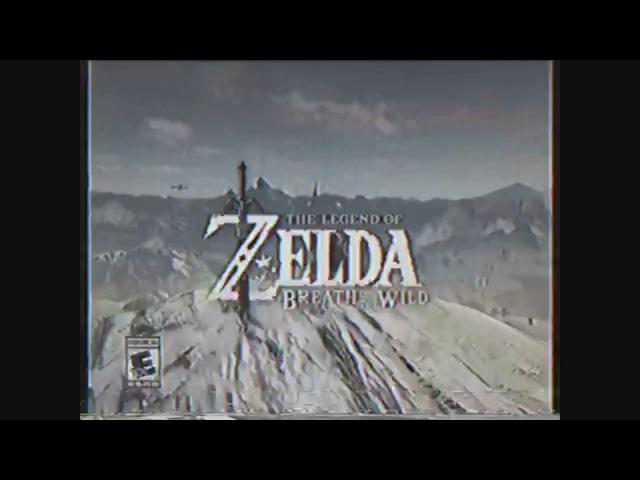 Retro Nintendo Switch Commercial - The Legend of Zelda: Breath of the Wild Remix