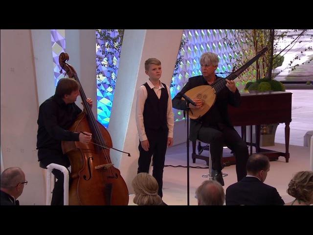 Lascia chio pianga (Handel) | boy soprano Aksel Rykkvin (14y), Rolf Lislevand, Knut Erik Sundquist