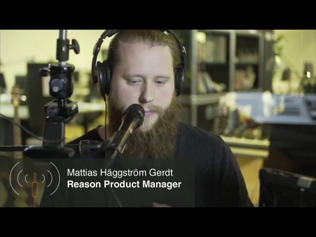 Live Stream (archive): VSTs in Reason 9.5