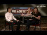 Live Q&A Paul McCartney with Tim Minchin announcing new OneOnOne tour
