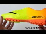 Футбольные сороконожки (многошиповки) Nike Mercurial Victory (Код товара 0267) видео обзор