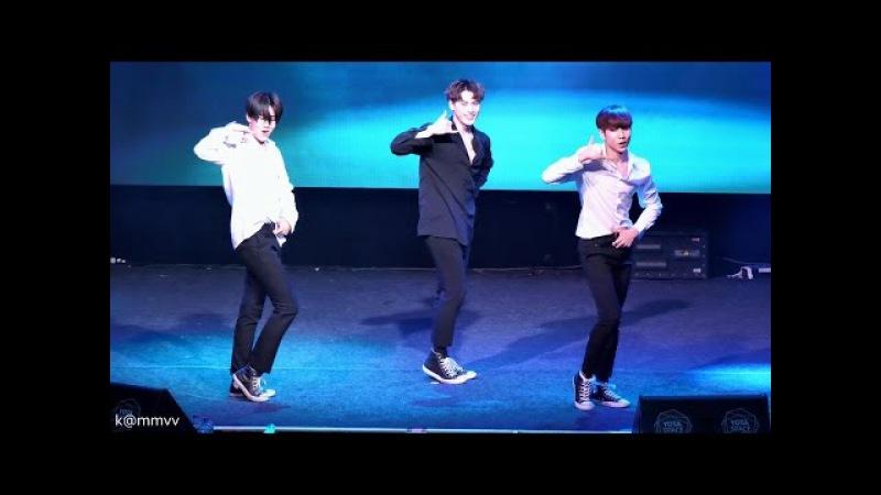 170402 Moscow 24K 투포케이 Dance (AOA Excuse Me) 정욱 창선 홍섭