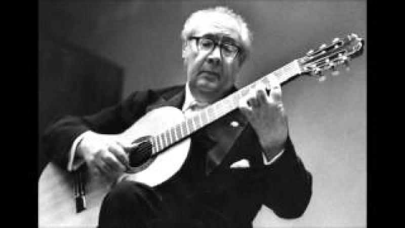 Andrés Segovia plays M.M.Ponce Sonatas