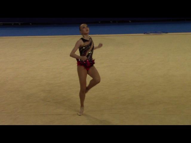 Сабина Аширбаева (обруч), Чемпионат Азии 2017