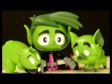 БИСТ БОЙ :) Юные Титаны, Вперед ! Игрушки и Игра из Мультика Teens Titans GO! Видео Обзор на русском