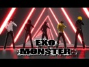 CreepyPasta EXO Monster Jeff Hoody Jack Toby Masky Animation Rodimir