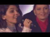 Katie Melua and The Gori women's choir Carol of the Bells. BBC.