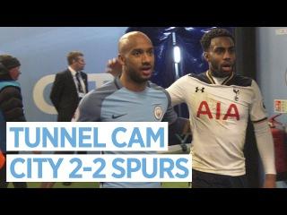 «Манчестер Сити» - «Тоттенхэм»: камера в туннеле