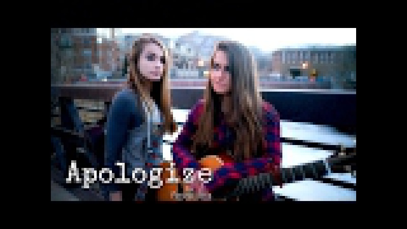 One Republic - Apologize - a Facing West cover