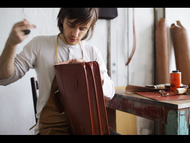 Making a Leather Briefcase (English Bridle)
