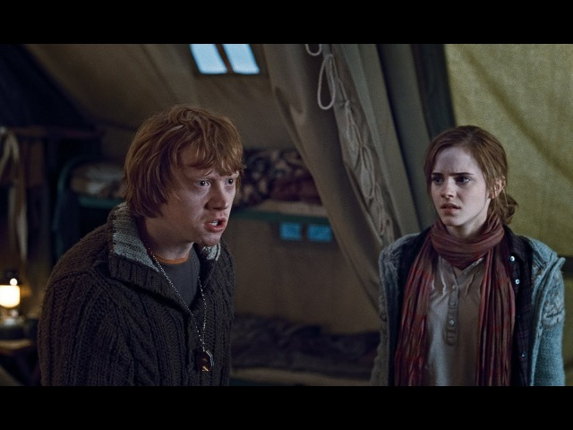 Harry Ron's Fight Scene [HD] (Harry Potter the Deathly Hallows Part 1)