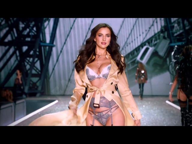 Irina Shayk on the Victoria's Secret Fashion Show Runway 2016