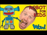 Robot for Kids playing with Steve and Maggie