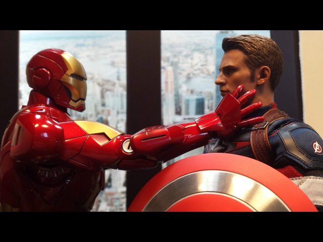 Avengers Reality Show *PARODY* Ep 2 (Hot Toys Stopmotion)
