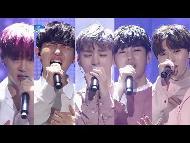 PRODUCE 101 season2 - I.O.I ♬ 소나기 (윤지성, 하성운, 황민현, 김재환, 권현빈)