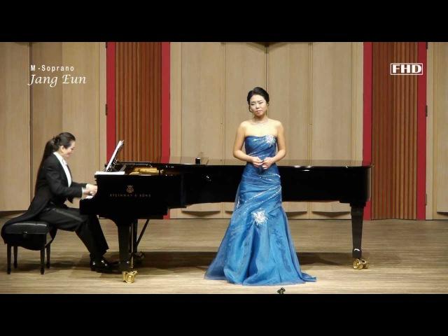Brahms - Am Sonntag Morgen Op.49, No1. 메조소프라노 장은