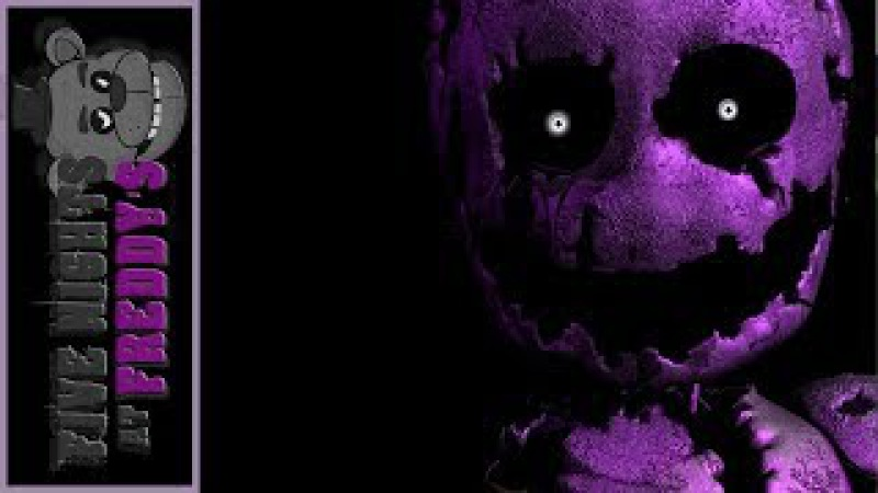 Five Nights at Freddys SONG [Purple] (Русский кавер от Jackie-O и Empire of Geese)
