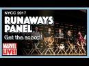 Marvel's Runaways - Full NYCC 2017 Panel