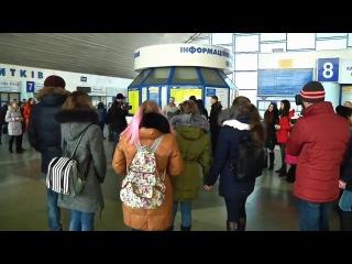 Песенный флешмоб. Луганск. На безымянной высоте