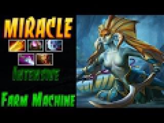 Miracle- [Naga Siren] Intensive Farm Machine - Dota 2