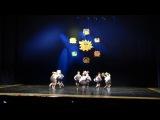 Юбилейный концерт хореографического ансамбля