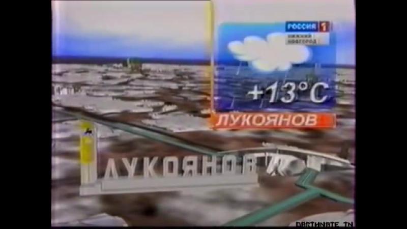 Окончание программы Вести-Приволжье и прогноз погоды (ГТРК Нижний Новгород, 12.04.2010)