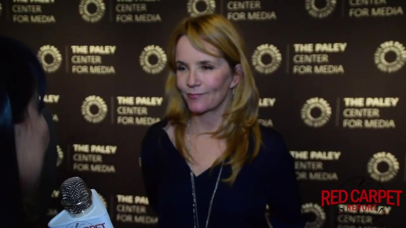 Lea Thompson Interviewed at PaleyLive LA Event Celebrating The Goldbergs 100th Episode