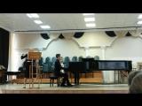 Дарья Вихрова и Дмитрий Колода. Прокофьев, соната для флейты и фортепиано номер 2