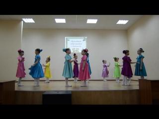 МБОУ СШ16. Прощание с азбукой, танец