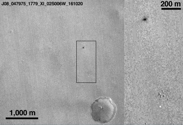 Europe's ExoMars lander slammed into the Mars surface at over 186 MPH with a full tank of fuel