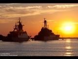 Мой фильм шторм Дальний поход. ТАКР Кузнецов и ЭМ Адмирал Ушаков. Полёты Су-25УТГ