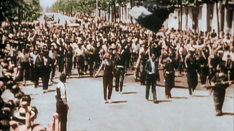 Вторая Мировая война в HD цвете. Надвигающаяся буря