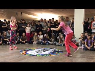 1/4 Алексеева Анжелика vs. Яковлева Софа MTI Battle 2016 (7-9 начинающие)