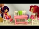 Мультики для девочек. Куколки Шарлотка и Вишенка обустраивают комнату кукольный театр