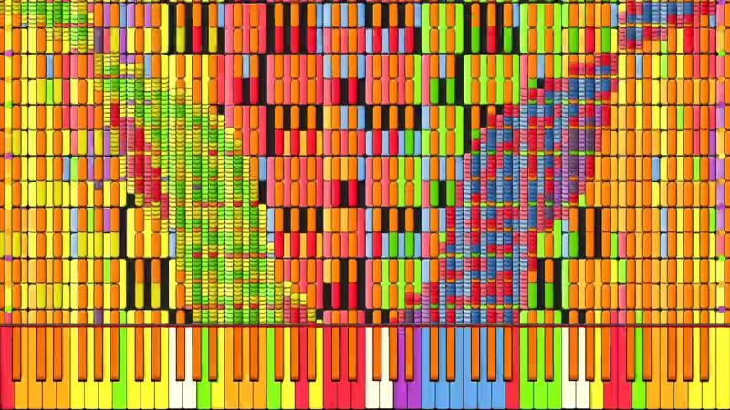 [Black MIDI] Synthesia – Nyan Trololol _ Rainbow Tylenol Nyan Cat Remix _ Busi (1)