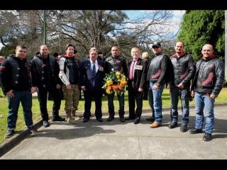 НВ Австралия, посещение Мемориальной доски Русским АНЗАК
