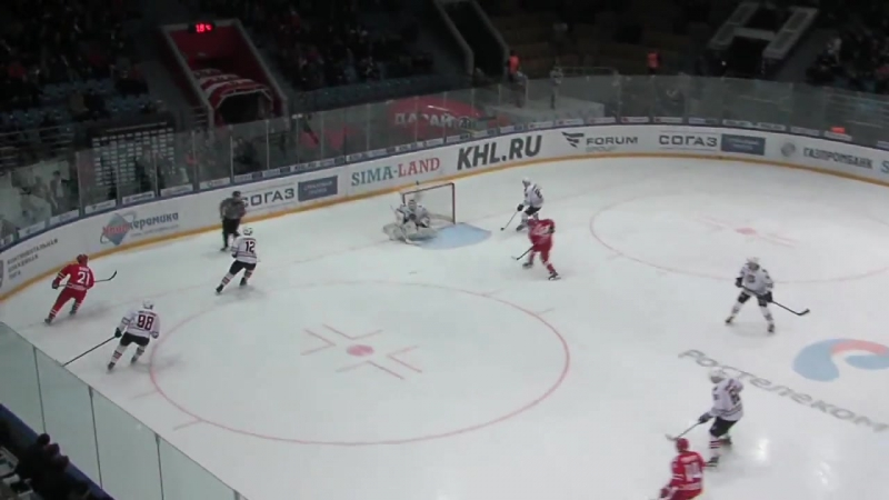 КХЛ.Сезон 2016/17.Автомобилист - Амур 1:2Б. Обзор матча