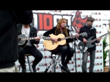 Halestorm - I Miss The Misery (acoustic at Download Festival 2012)