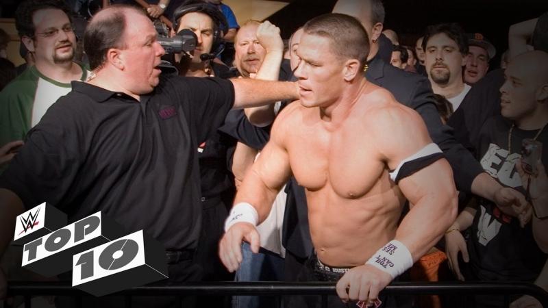 [WWE QTV]☆[Top 10]Hostile crowd reactions]☆ [Топ 10]Злобная реакция Толпы]
