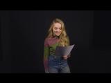 Сабрина читает пикап фразы