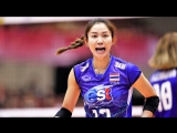 Nootsara Tomkom (นุศรา ต้อมคำ) the BEST Volleyball Setter - Amazing Volleyball Setter