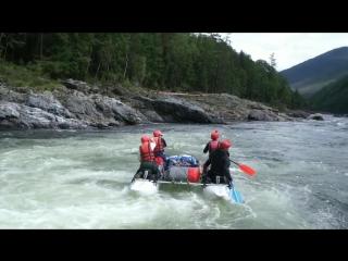 Приключения на реке Урик в августе 2016