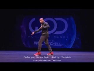 Fikshun_goes_NARUTO_STYLE_-_World_of_Dance_2016_