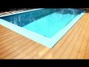 Монтаж террасы из террасной доски ДПК древесно полимерный композит