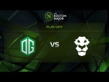 OG vs AD Finem, Game 4, Grand Final - The Boston Major